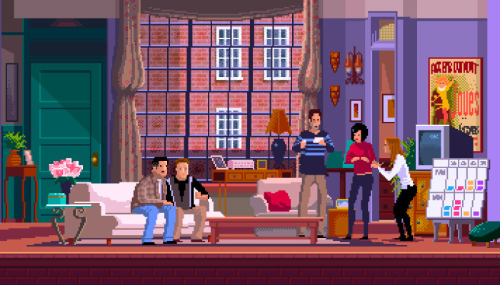 I'm A Pixel Artist And I Made Game Scenes Based On Popular Tv Series And Movies (30 Pics)