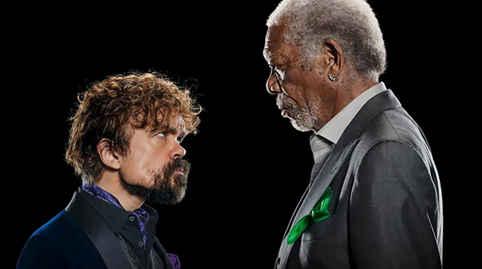 Peter Dinklage Faces Off Morgan Freeman In Super Bowl Rap Battle, And The Result Is Hilarious