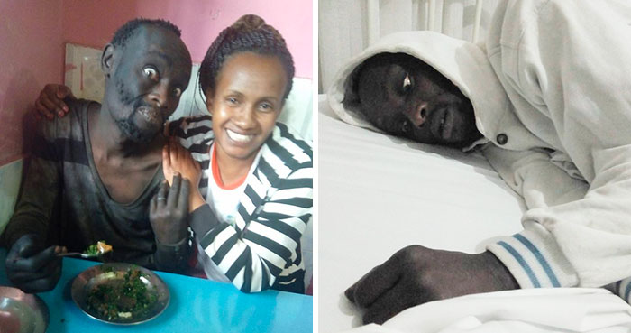 Woman Finds Childhood Friend On Streets Addicted To Drugs, Transforms Him So Much We Can't Believe It's Same Man