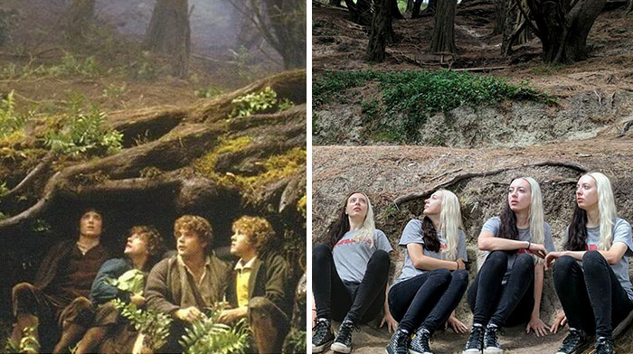 I Visited Almost Every 'Lord Of The Rings' Filming Location And Recreated Some Scenes