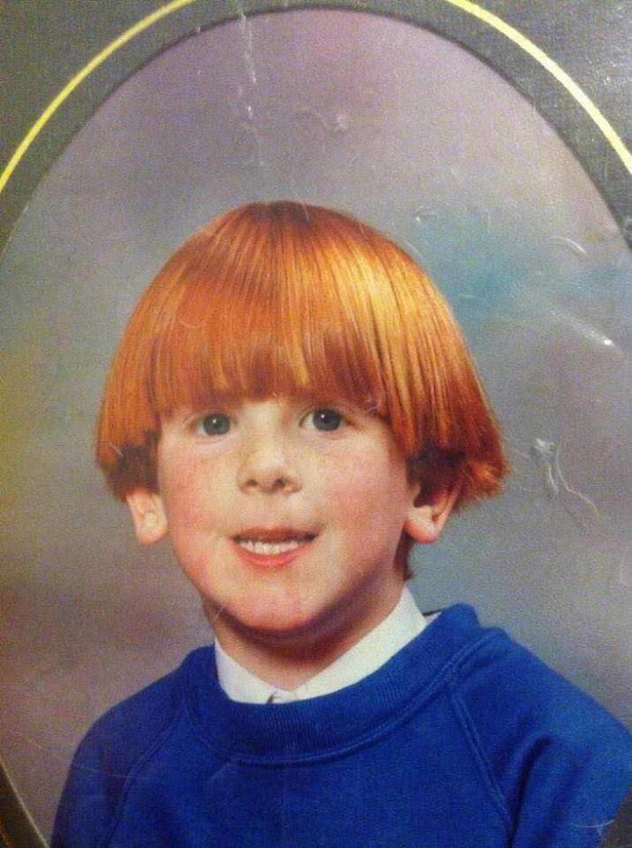 'Ginger Hair? Freckles? Pale Skin? This Kids Going To Be Too Popular At School. Can You Level The Playing Field A Bit?' - Parents To Hairdresser