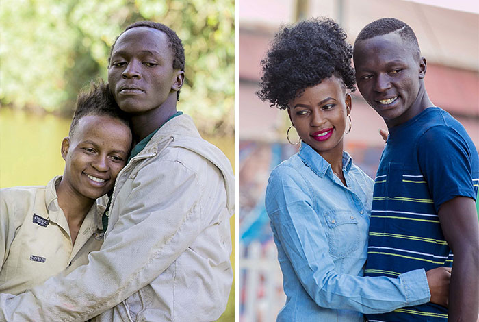 Photographer Changes The Physical Appearance Of A Homeless Couple, And Now They Look Like Fashion Models