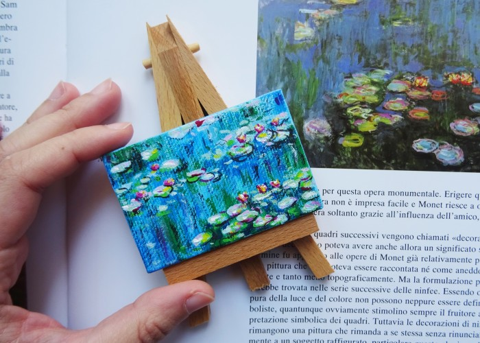 I Create Miniature Versions Of Iconic Paintings