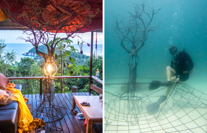 The Tree Of Life: I Created An Underwater Electrified Artificial Reef