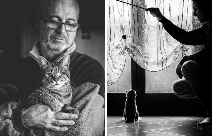 I Photograph Men With Their Cats And The Result Is Cuteness Overload!