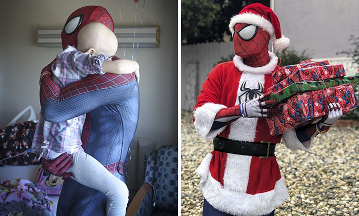 This Man Has Helped Over 10,000 Children By Dressing Up As Spider-Man And His Story Will Make You Cry