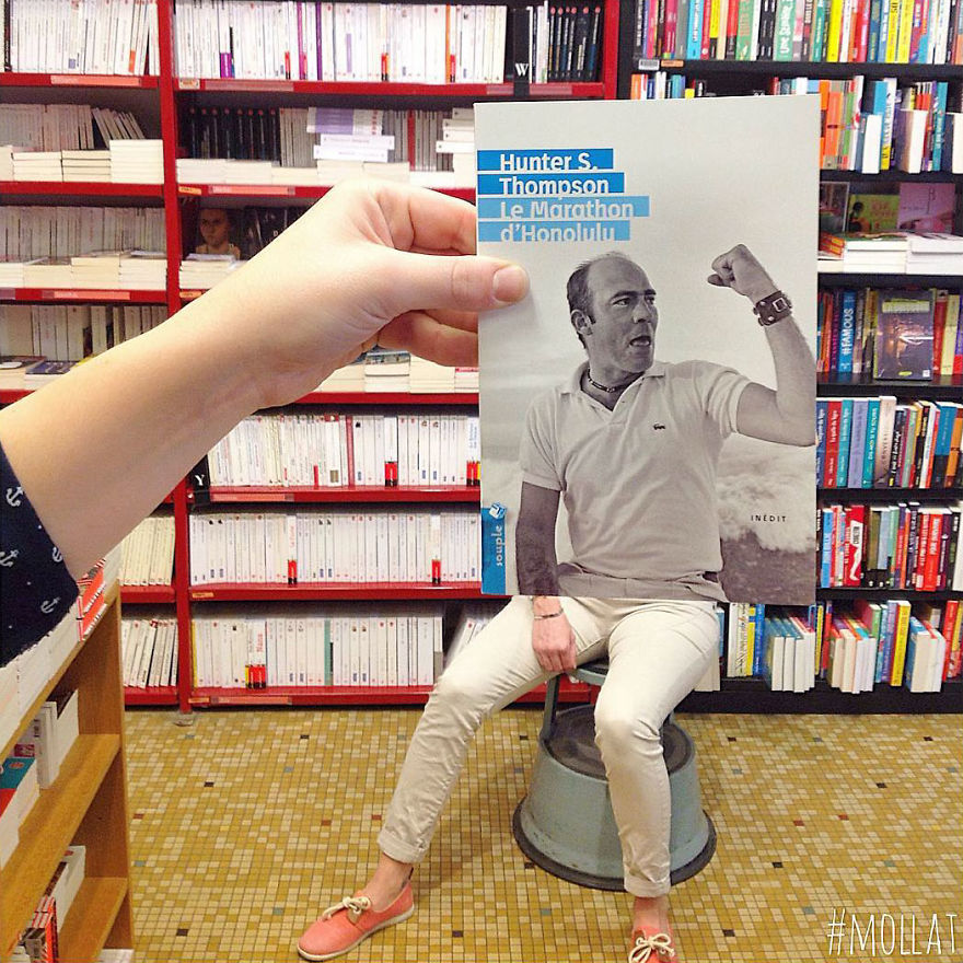 What Happens When Bookstore Employees Get Bored