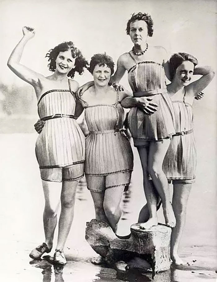 Wooden Swimsuits, 1929
