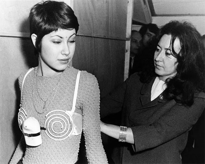 The Bra Claimed To Develop And Strengthen The Bust And Was Designed To Vibrate While The Person Wearing It Was At Work. Brussel, 1971