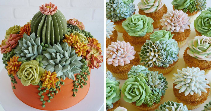 This Artist Creates Stunning Cakes You Would Rather Put On Your Windowsill Than In The Fridge