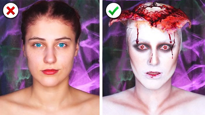 6 Last Minute Scary Halloween Makeup And Costume Ideas