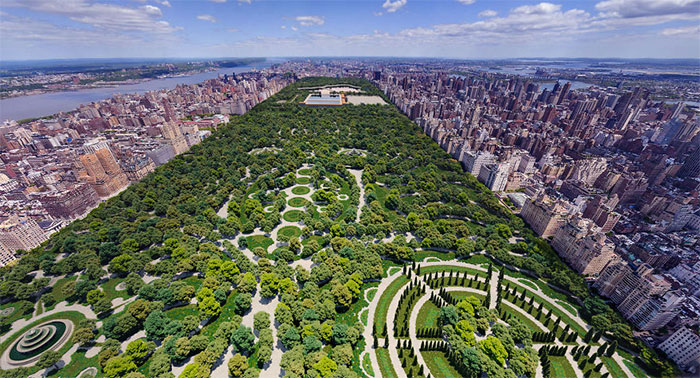 This Is How NYC Central Park Would Have Looked Based On A Rejected Design From 1858