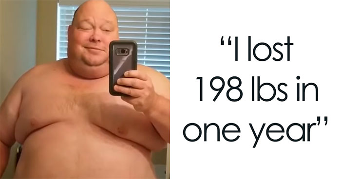 475Lbs Man Loses 198Lbs In One Year, And It's Hard To Believe It's The Same Person