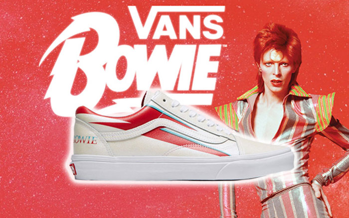 Vans Is Launching A David Bowie-Inspired Sneakers Collection