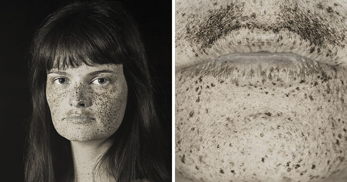 Artist Uses UV Photography Techniques To Reveal 'Raw' Portraits Of People That We Don't Normally See (10 Pics)