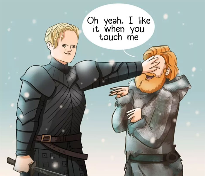 What Happens Behind The Scenes Of Game Of Thrones (My 5 Comics)