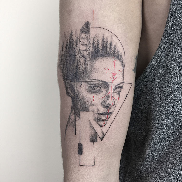 My 40 Geometric Tattoo Designs That Reflect Events In People's Lives