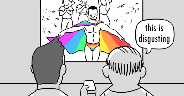 I Share My Personal Experiences As A Gay Man In My Pride Month Comic