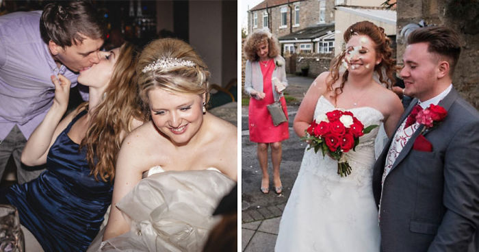 'Not A Wedding Photographer' Captures The Chaos Of People's Special Day (30 Funny Pics)