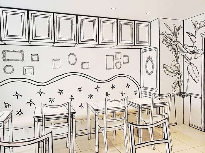 This Unusual Cafe In Japan Will Make You Feel Like You Stepped Into A Cartoon (18 Pics)