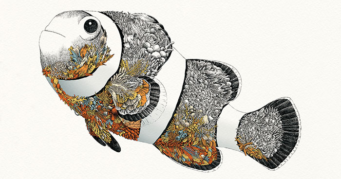 I Draw Illustrations To Support The Conservation Of The Great Barrier Reef (8 Pics)