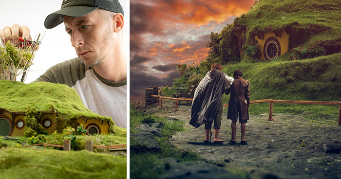 I Recreate The 'Lord Of The Rings' Scenes On A Tabletop (8 Pics)
