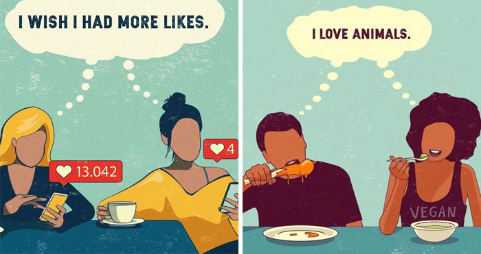 Artist Highlights The Problems Of Our Society Through 30 Illustrations
