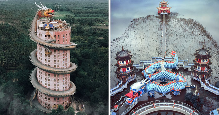 During My Trip Around Asia, I Looked For The Most Beautiful And Craziest Temples And This Is What I Found (9 Pics)