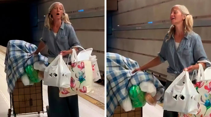 Homeless Woman Goes Viral For Incredible Singing Skills, Turns Out She Lost Her Home To Medical Bills