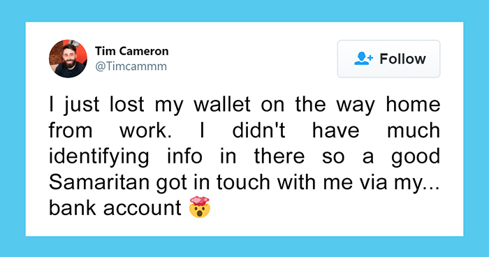 This Good Samaritan Used Money Transfers Of 1 Penny To Track Down The Owner Of A Lost Wallet