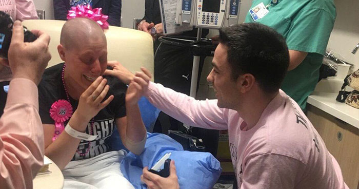 Woman Gives Her Boyfriend Of 3 Years An 'Out' After Getting Cancer, He Proposes Instead