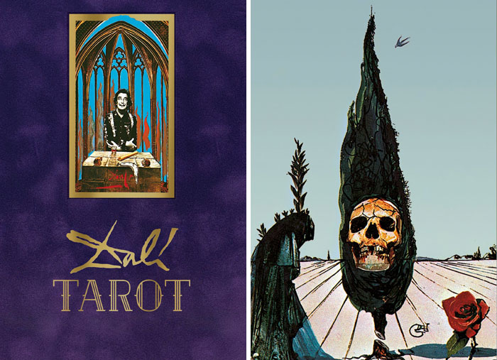 Salvador Dalí's Surreal Tarot Card Deck To Be Released Again 30 Years After It Was First Designed