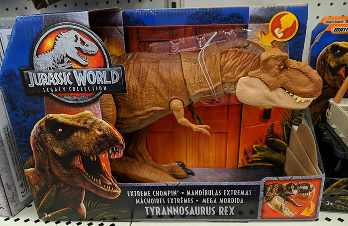 Mom Didn't Let Her Kid Buy A T-Rex Because It's 'Too Violent', They Buy One When They Grow Up And The Pics Are Hilarious