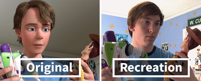 """These Brothers Recreated The Whole Movie Of """"Toy Story 3"""" And It Took Them 8 Years"""