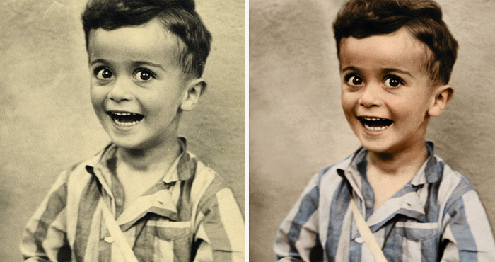 My 10 Colourised Photos Show The True Horror Of The Holocaust