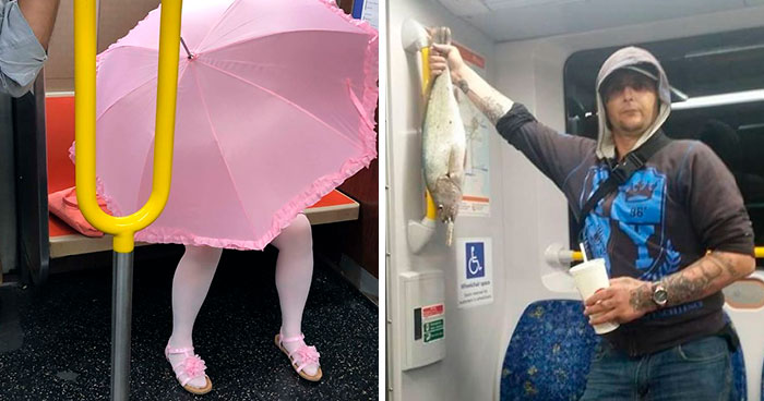 People Are Shaming Jerks They Meet On The Subway By Posting These 30 Pics Online