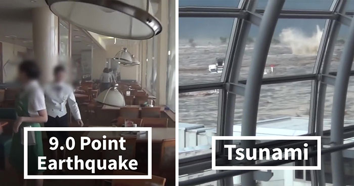 A Video Surfaced Of The 9.0 Earthquake And Tsunami That Hit Japan In 2011 And It's Terrifying To Watch