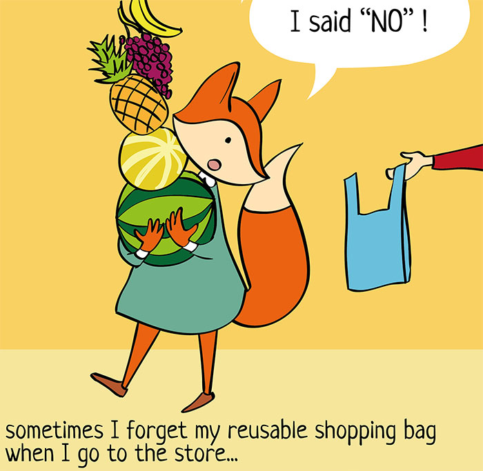 I Dream Of Living A Zero-Waste Life, Here Are The Struggles I Face (31 Comics)