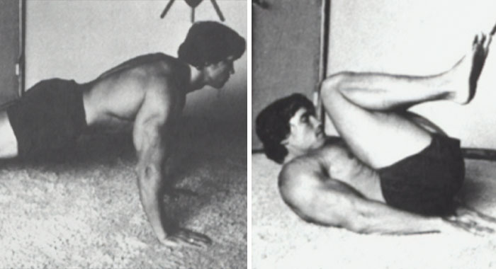 Arnold Schwarzenegger Shared Vintage 1977 Photos Of Himself Illustrating His Iconic 9-Step No-Gym Workout