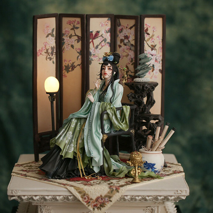 57 Incredibly Detailed Cake Decorations By Chinese Patissier