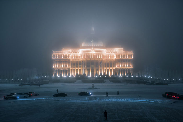 I Visited Nur-Sultan, One Of The Coldest Capitals In The World, And Captured Its Stunning Architecture In -20°C