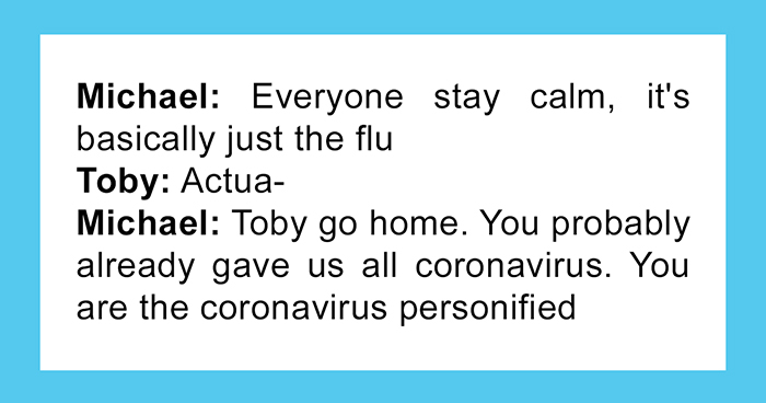 Fans Write A Hilarious Coronavirus-Inspired 'The Office' Episode