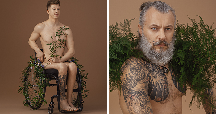 For This International Women's Day, I Got 12 Men To Crush Stereotypes Of Masculinity With My Photoshoot