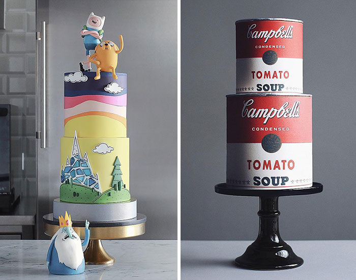 This Bakery Pairs Cakes With Pop Culture And The Results Are Mouth-Watering