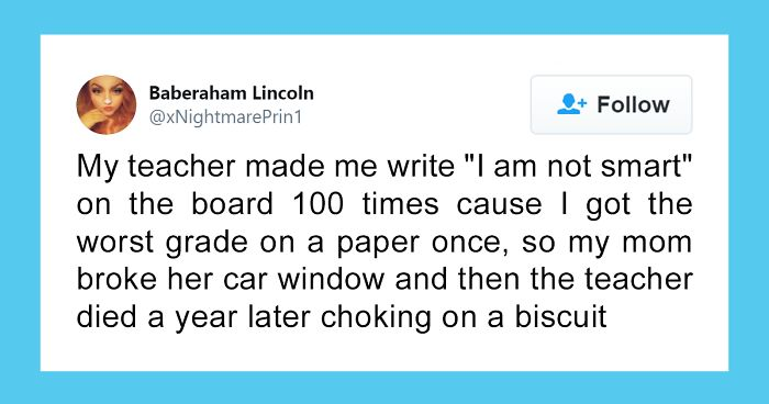 "People Share Stories About Jerk Teachers That ""Radicalized"" Them In Their Youth (30 Tweets)"