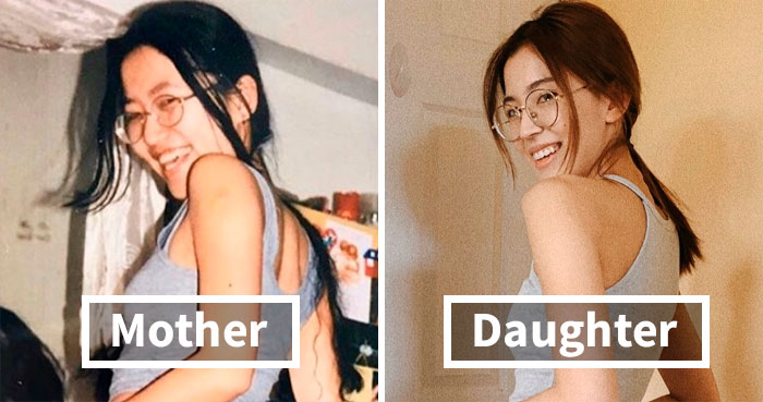 29 Daughters Recreate Their Moms' Looks For Mother's Day, And The Resemblance Is Uncanny
