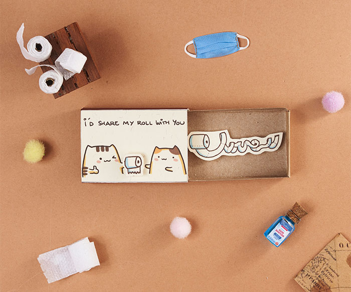 Our 13 Matchbox Cards With Cute Messages We All Need In Quarantine