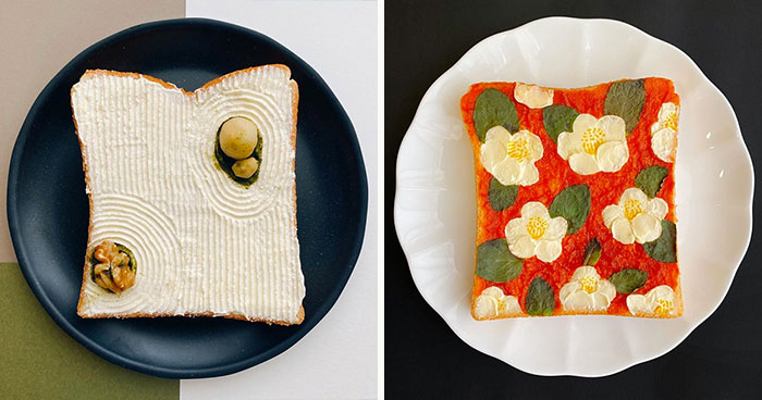16 Creative Toast Designs By Japanese Artist