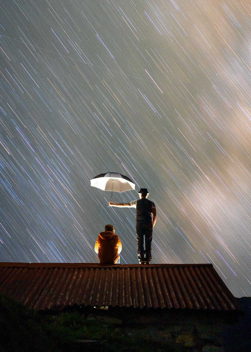 I Love To Tell Stories Under The Night Sky