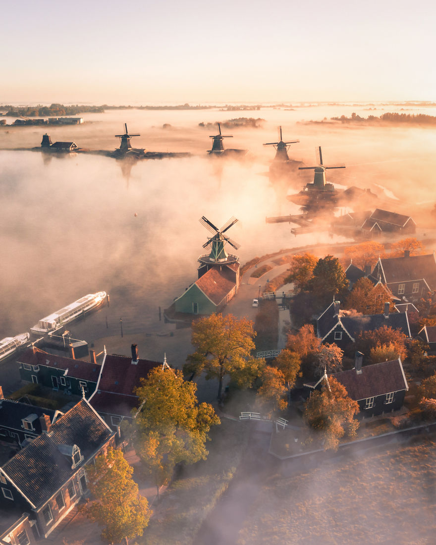 Magic Morning In The Netherlands